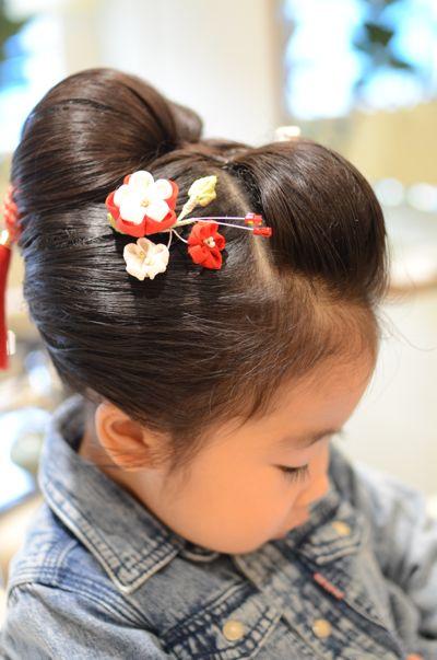 20153歳 日本髪